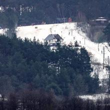 Stok narciarski wChodzieży