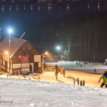 Stok narciarski w Chodzieży