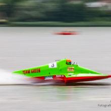 Zawody motorowodne - wyścigi klasy R1000 - Chodzież